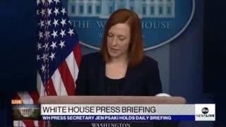 Biden's press secretary.