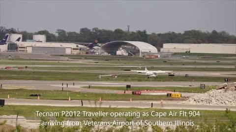 Afternoon Plane Spotting at St Louis Lambert Intl April 25, 2021