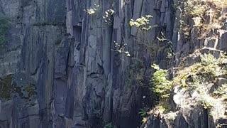 Cliff Jump Near Miss