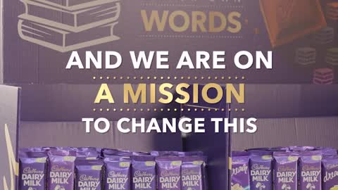 Translate just one word and ignite a child's love for reading witih Cadbury Dairy Milk