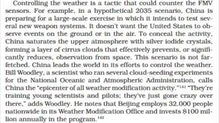 CLIMATE CHANGE OR WEATHER MODIFICATION?!