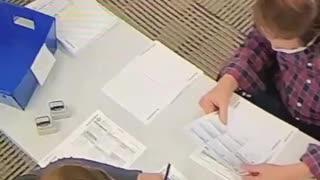 Voter Fraud: Caught Blue Handed!!
