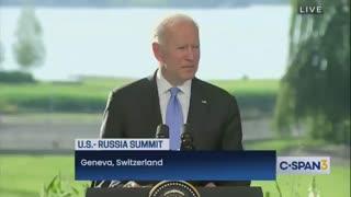 "Biden's Brain BREAKS - Almost Calls Vladimir Putin ""President Trump"" During Presser"