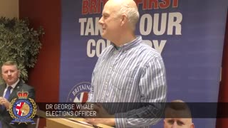 George Whale gives informative speech on immigration