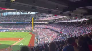 WATCH: Baseball Game Played In Front Of First Packed Stadium Since Pandemic Started