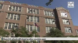 As European schools stay open amid rising cases, many U.S. schools remain shuttered