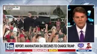 No charges against President Trump: Manhattan DA.