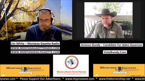 Ammon Bundy, Candidate for Idaho Governor, Joins Me Live