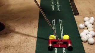 Cure RX-5 Two Ball Putter Demo