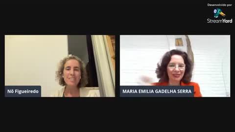 Aula da Dra. Maria Emília sobre imunizantes do Covid