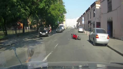 inadequate motorcyclist