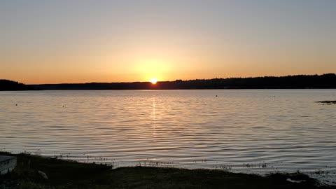 Great spring sunrise