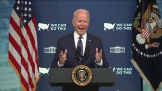 Biden pleads with American to get COVID-19 vaccine