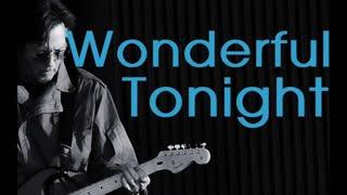 Wonderful Tonight Clapton Acoustic Cover