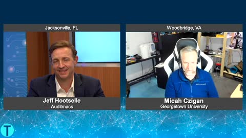 """""""Tech Talk USA"""" with Micah Czigan from Georgetown University"""