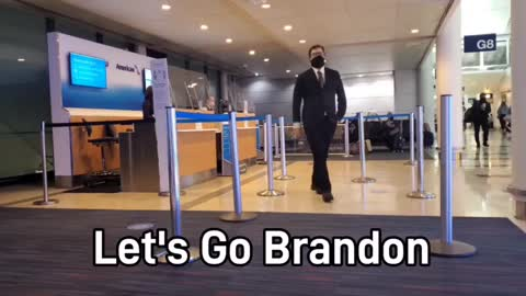 """""""Let's Go Brandon!"""" Makes Glorious Appearance Over Intercoms of Chicago Airport"""
