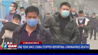 One year since China stopped reporting coronavirus deaths