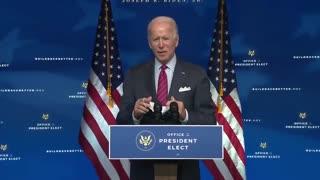 Biden: 'I Don't Think It Should Be Mandatory, I Wouldn't Demand It Be Mandatory'