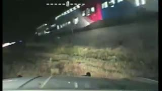 Officer Saves Man From Upcoming Train