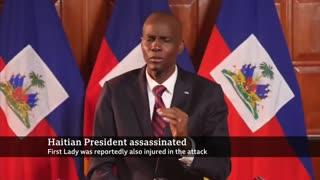 Haiti president killed.