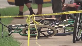 MAN SHOT - DRIVER CHARGED WITH AGGRAVATED ASSAULT FOR HITTING BICYCLIST IN SE HOUSTON