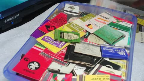 Matchbooks From Long Forgotten Places