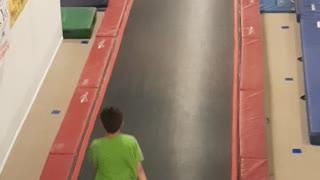Double Backflip on Tumble track