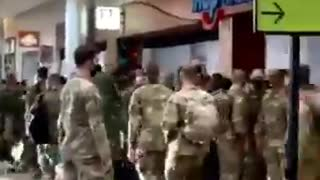Hundreds of Soldiers Spotted at Atlanta Airport Amid Trump Rally in Georgia Tonight