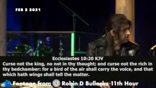 Prophetic Word: Robin Bullock's message to the rightful President, 11th hour