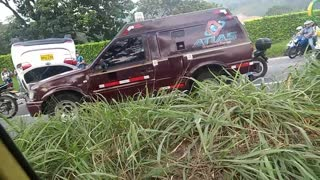 Accidente en Bucaramanga - Piedecuesta