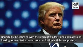 'From the Desk of': Trump unveils online platform