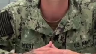 Heartbreaking Video Shows the Real Life Consequences Biden's Mandates Has on Our Troops