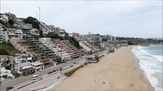 Renaca beach and city in Chile