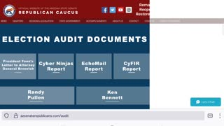Maricopa County Forensic Audit Presentation Files
