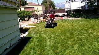 Backyard ATV