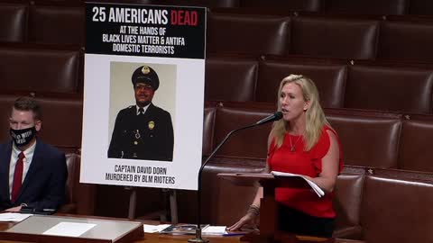 Marjorie Taylor Greene Calls for an Investigation Into the Funding of Antifa and BLM