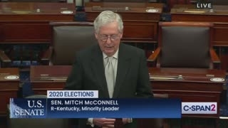 Sen. McConnell Calls Out Pelosi's Election Hypocrisy