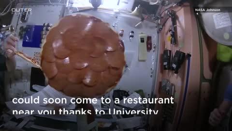 Levitating Food