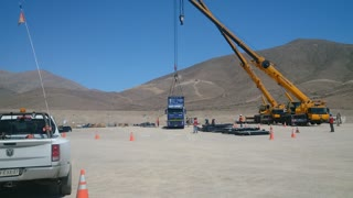 Crane Work - Plant Field Assembly South America 5 of 5
