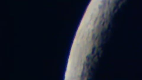 The Moon under Celestron 21087 PowerSeeker 80AZS Telescope