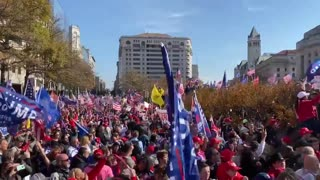 MARCH FOR TRUMP! National Anthem! (GOOSEBUMPS)