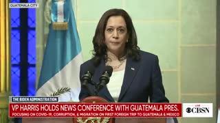 "Kamala Harris to Guatemala migrants: ""Do not come!"""