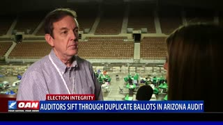 Auditors sift through duplicate ballots in Ariz. audit