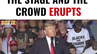 """Trump Takes The Stage And The Crowd ERUPTS Into """"USA!"""" Chants"""