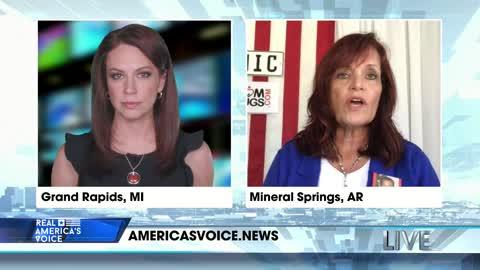 Sabine on America's Voice Live Show