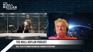 Niall talks to former presidential candidate Peter Casey about, life, politics and covid