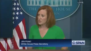 Reporter Confronts Psaki About Calls for Censorship, She PANICS