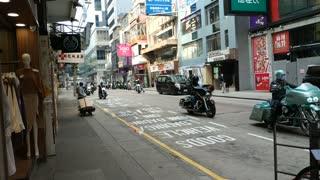 Meet the Harry Motorcycles in Tsimshatsui, Hong Kong 17.1.2021 morning