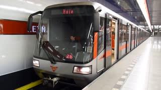 Prague Metro, Letňany station, line C
