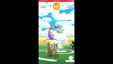 Pokemon Go - Tornadus Raiding